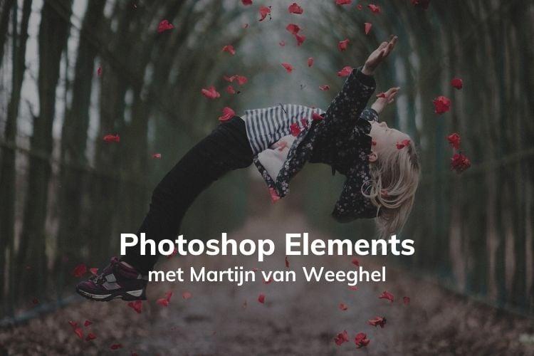 In deze online cursus leer je alles over fotobewerking met Photoshop Elements