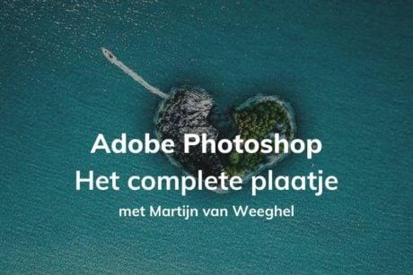In deze cursus leer je alles over Adobe Photoshop 2021