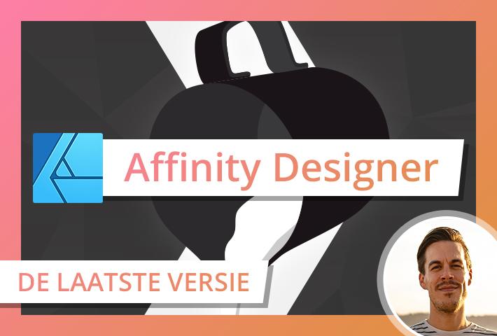 vormgeven dtp affinity adobe designer illustrator