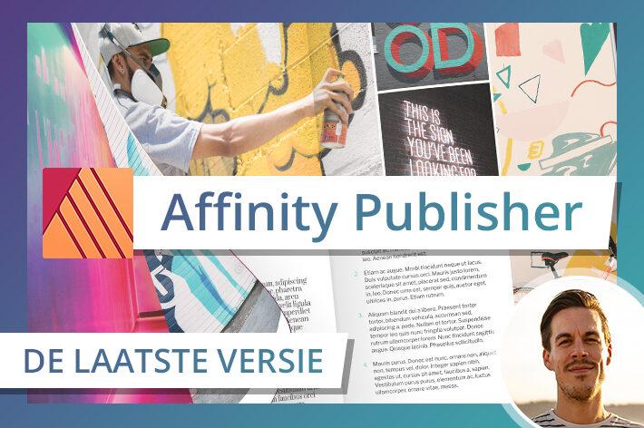 vormgeven dtp affinity adobe publisher indesign