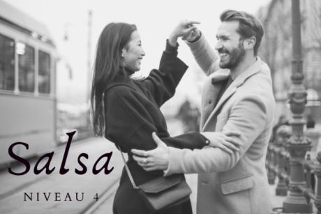Leer online Salsa dansen op niveau 4, alleen of samen, met of zonder partner