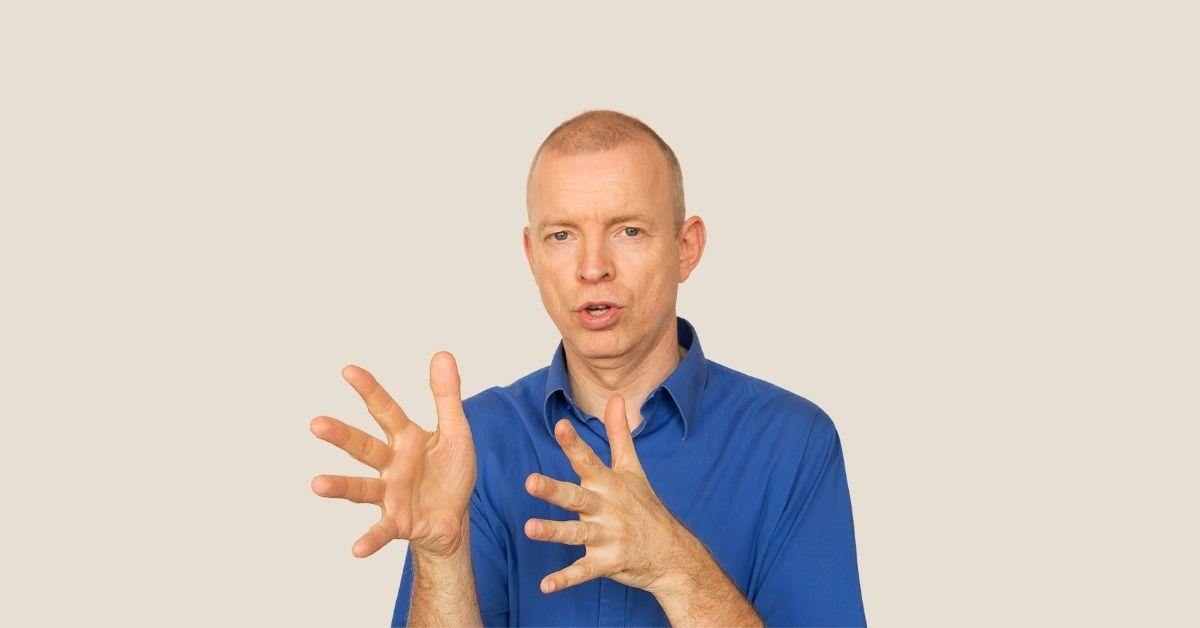 Leer online gebarentaal van Tom Uittenbogert