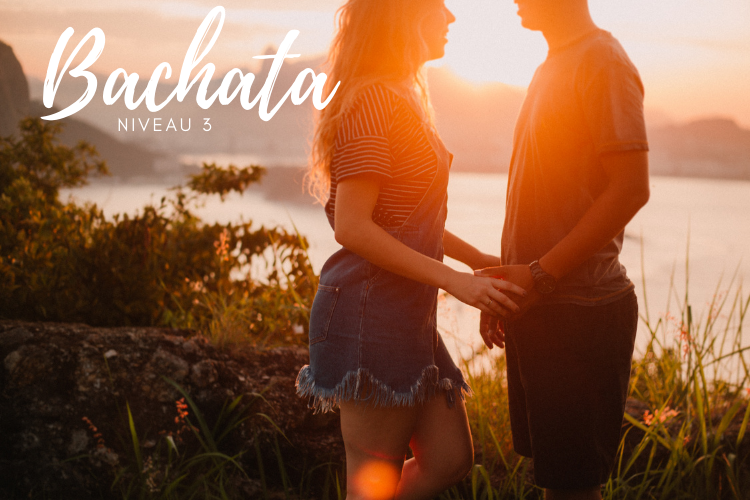 In deze online cursus leer je bachata dansen niveau 3, alleen of met partner