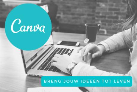 Leer in deze online cursus alles over Canva, het programma waarmee je jouw design ideeën tot leven kunt brengen