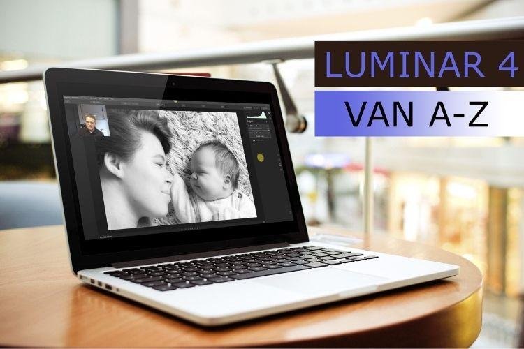 In deze online cursus leer je hoe je foto's kunt bewerken met Luminar 4