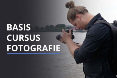 In deze online cursus leer je de basis van fotografie