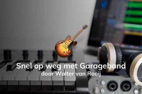 In deze online cursus leer je hoe je je eigen muziek kunt maken met GarageBand