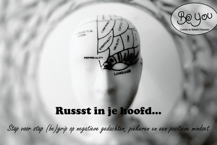 In deze online cursus leer je grip krijgen op negatieve gedachten, piekeren en een positievere mindset