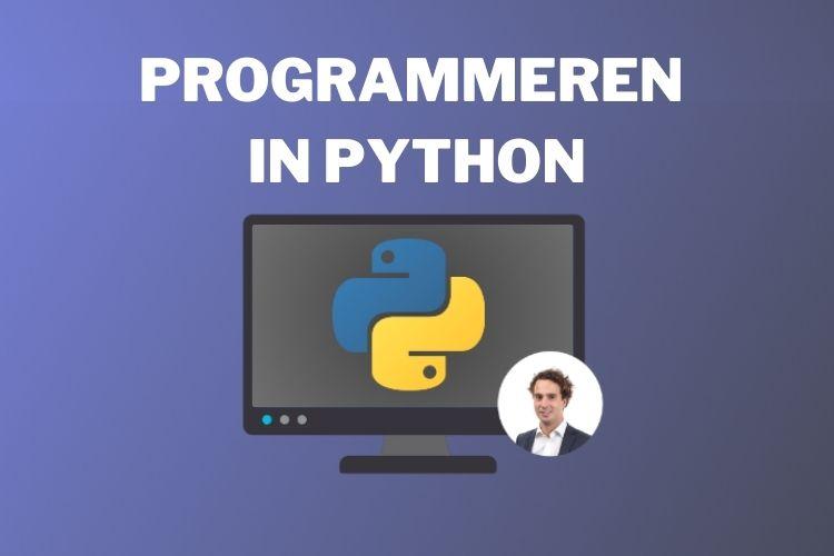Met deze online cursus leer je hoe je kunt programmeren in Python