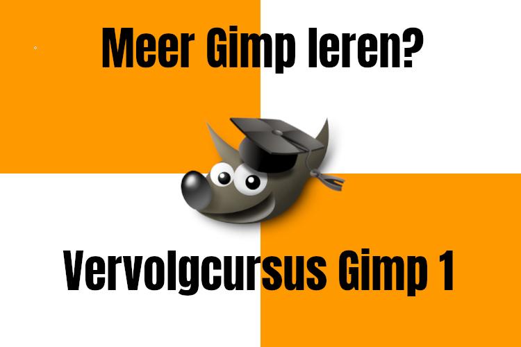 Vervolgcursus Gimp1