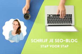 In deze online cursus leer je hoe je stap voor stap een seo blog schrijft