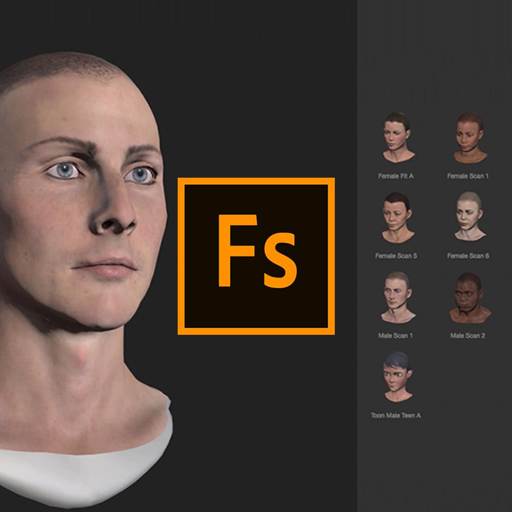 Maak 3d Karakters Met Adobe FuseandPhotoshop